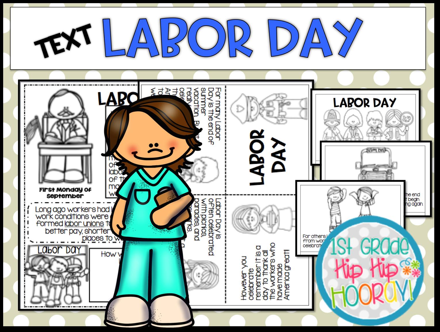 1st Grade Hip Hip Hooray!: Labor Day! [ 1156 x 1531 Pixel ]