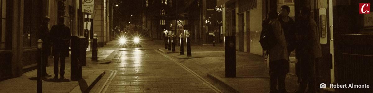 ambiente de leitura carlos romero clovis roberto perambiular solidao madrugada cidade noite