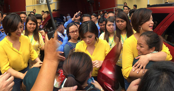 #Throwback: Angel Locsin Showed Concern Towards A Fan! Read This!