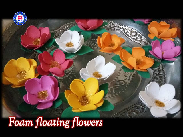 Here is Paper flowers,diwali decorations ideas,festival wishes,diy candle holder,diwali holder,diya decoration ideas,how to make tea light holder,diwali floting flowers,diya floating candles,DIY How to make Floating Flowers For Diwali Decoration // floating candle with flowers centerpiece