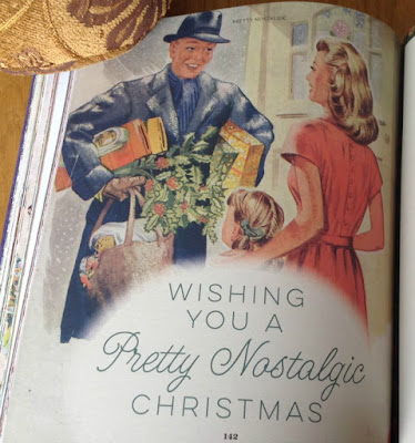 Page wishing everyone a Pretty Nostalgic Christmas