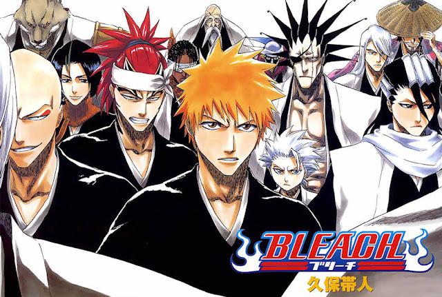 El manga Bleach ha vendido más de 120 millones de copias en todo el mundo