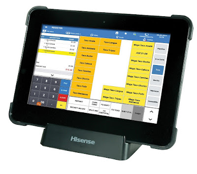 SAM4s Tablet for the SAM4pos pos system