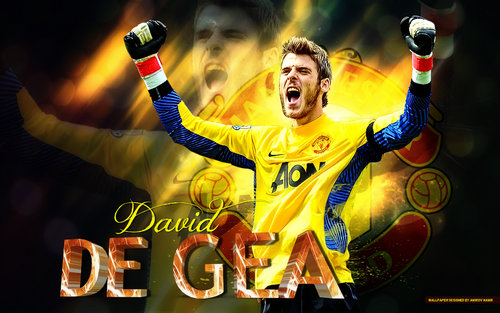 Messi Wallpapers: David Gea-Man-U Wallpaper Free