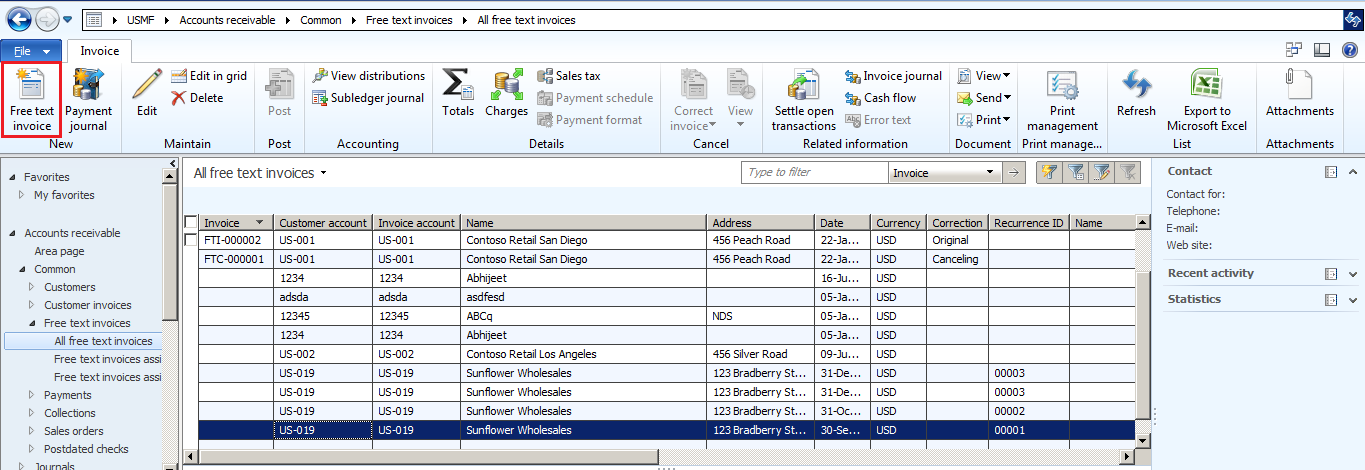 abhijeet hele s the ax effect free text invoice in microsoft