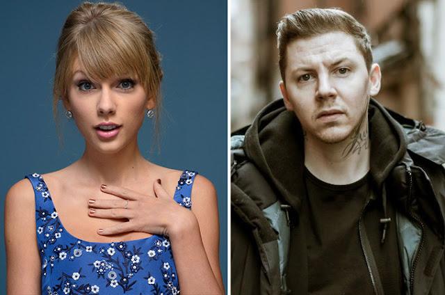 """Rapero piensa que Taylor Swift es un poco """"promiscua"""""""