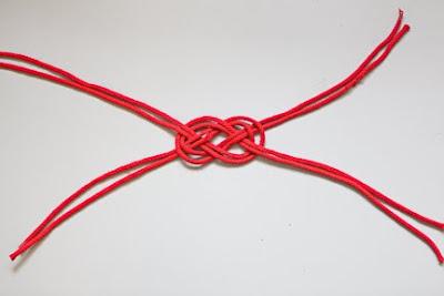 Denizci Düğümü İle Saç Bandı Yapımı 8