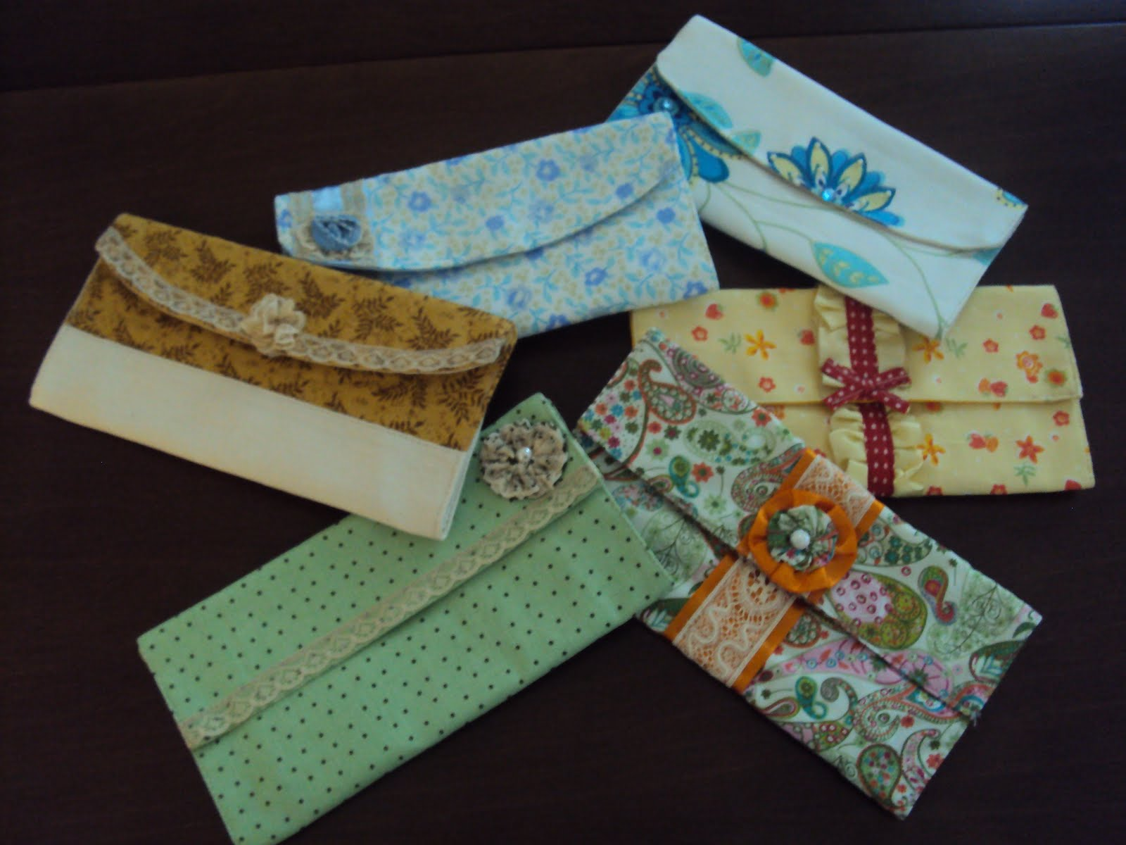 Armario Ingles Britanico ~ Eu Amo Artesanato Carteiras de tecido