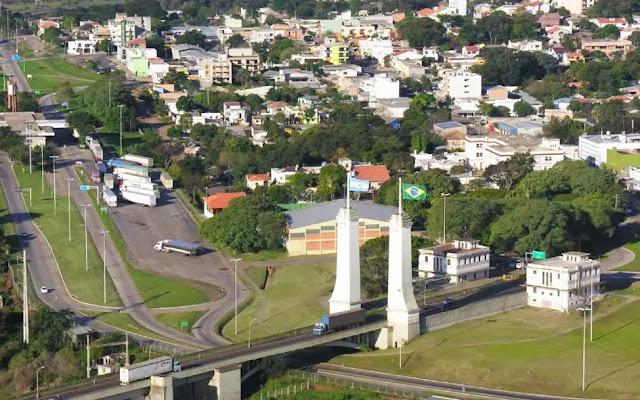 Ponte internacional de Uruguaiana – RS