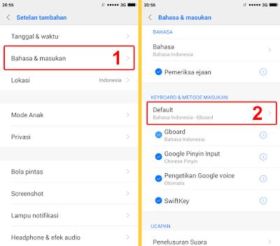 Cara Mengganti Bahasa Keyboard HP Xiaomi Menjadi Indonesia 1