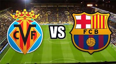 مشاهدة مباراة برشلونة وفياريال فى الدورى الاسبانى اليوم بث مباشر
