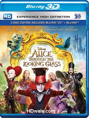 Alice Through the Looking Glass (2016) Movie BluRay