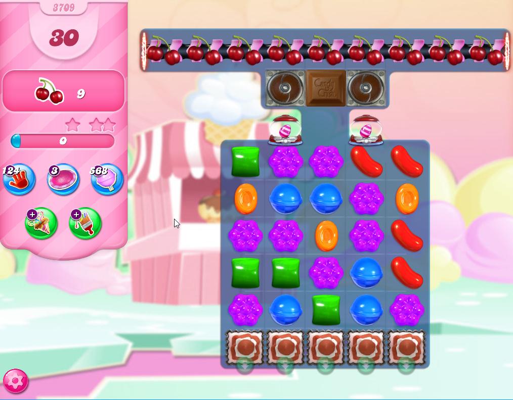 Candy Crush Saga level 3709