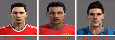 Faces: Darmian, Stevan Jovetic, Thiago Alcantara Pes 2013