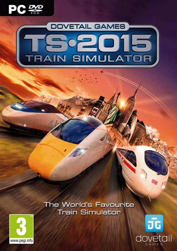 Train Simulator 2015 Dowload Cover Free Game