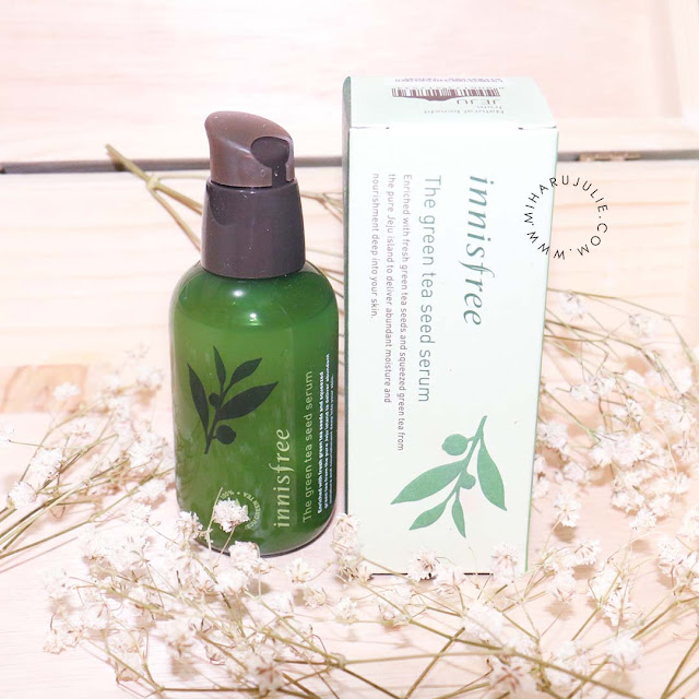 INNISFREE Greentea Seed Serum Review