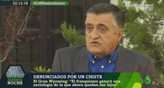 """Gran Wyoming: """"El franquismo generó una sociología de la que ahora quedan sus hijos"""""""
