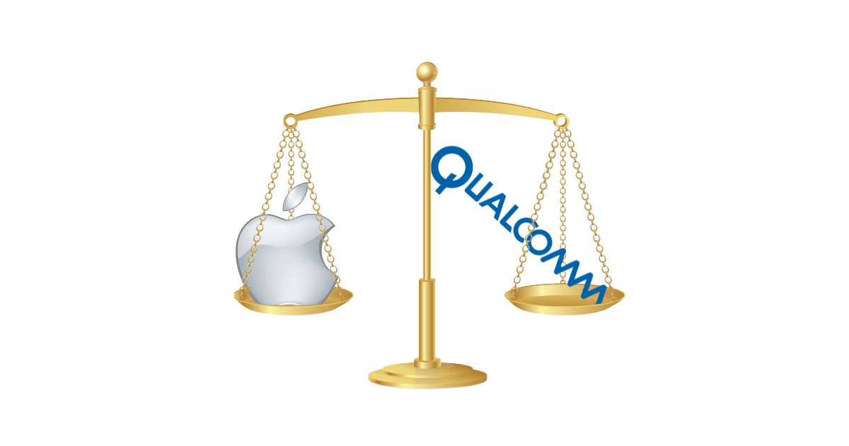 Apple vs Qualcomm , Face off In Court on April 15th