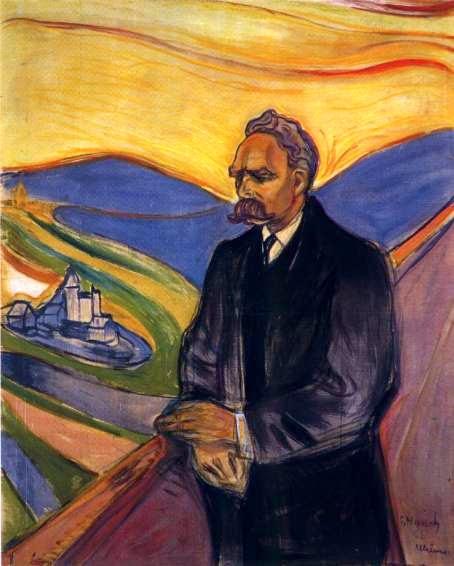 Friedrich Nietzsche - Munch, Edvard esuas principais pinturas ~ Um grito de desespero existencial