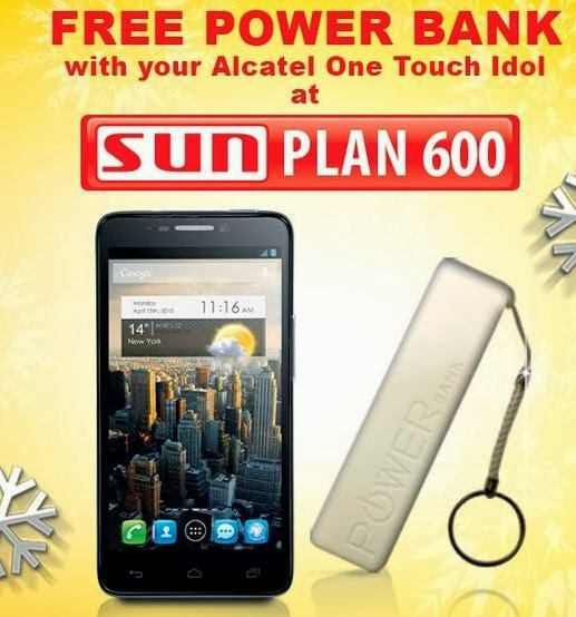 Alcatel One Touch Idol Sun Plan