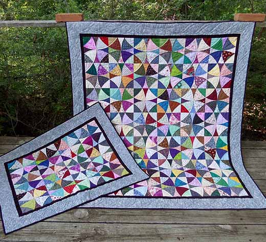 Winding Ways Quilt Free Tutorial