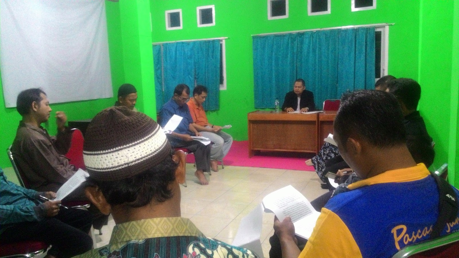teacher in sorong
