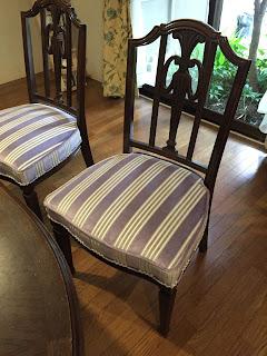 椅子の張り替え:生地<マニュエル・カノヴァス>4785/05