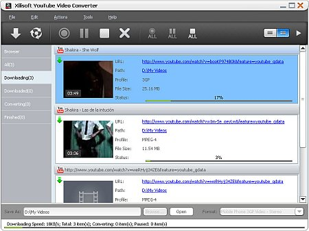 Download Xilisoft YouTube Video Converter 5.6.6.20170209 Portable software