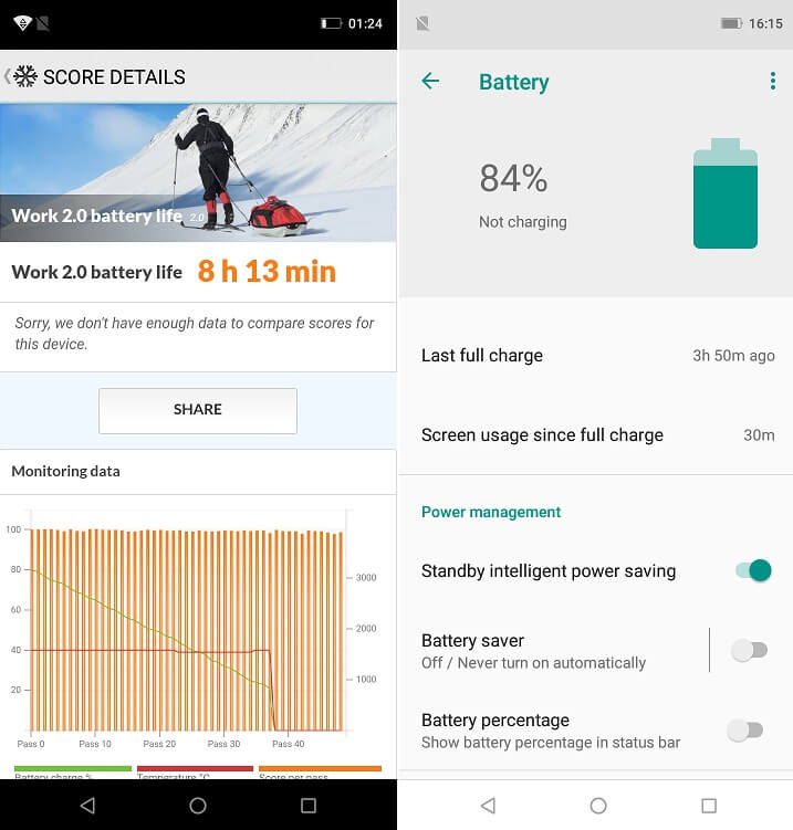 Leagoo S9 Battery Info