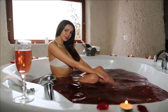 kapadokya şarap banyosu