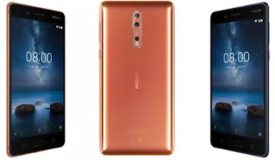 Nokia 8: 8 key features of Nokia's new Android flagship smartphone (See Review Video)