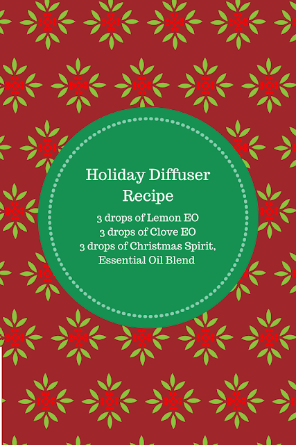 Holiday Diffuser Recipe with Essential Oils