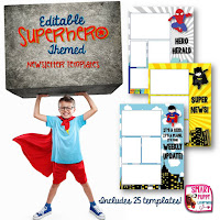 https://www.teacherspayteachers.com/Product/Superhero-Editable-Newsletter-Templates-1293462