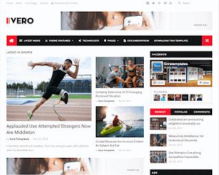 IVERO Blogger Template
