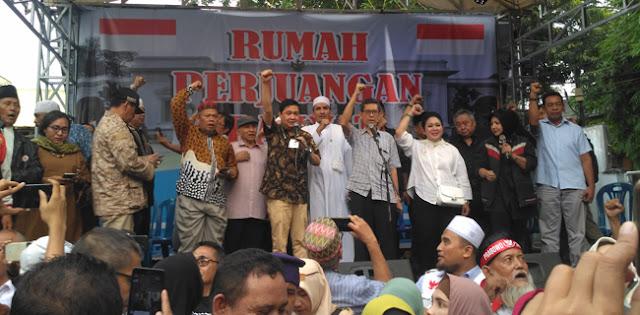 Tokoh Dan Relawan 02 Deklarasi Gerakan Nasional Kedaulatan Rakyat