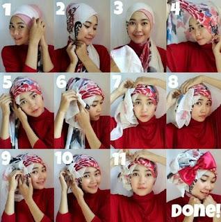 Hijab Turban Unik dan Cantik