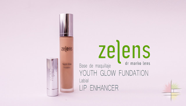 Zelens: base de maquillaje Youth Glow Foundation y labial Lip Enhancer