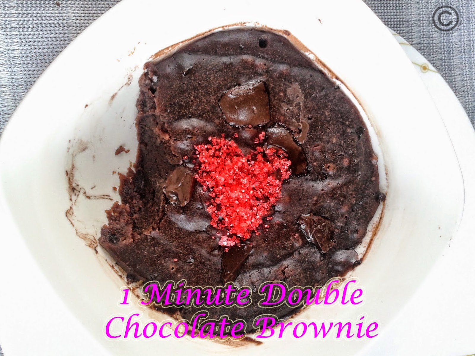 Double-chocolate-1-minute-brownie