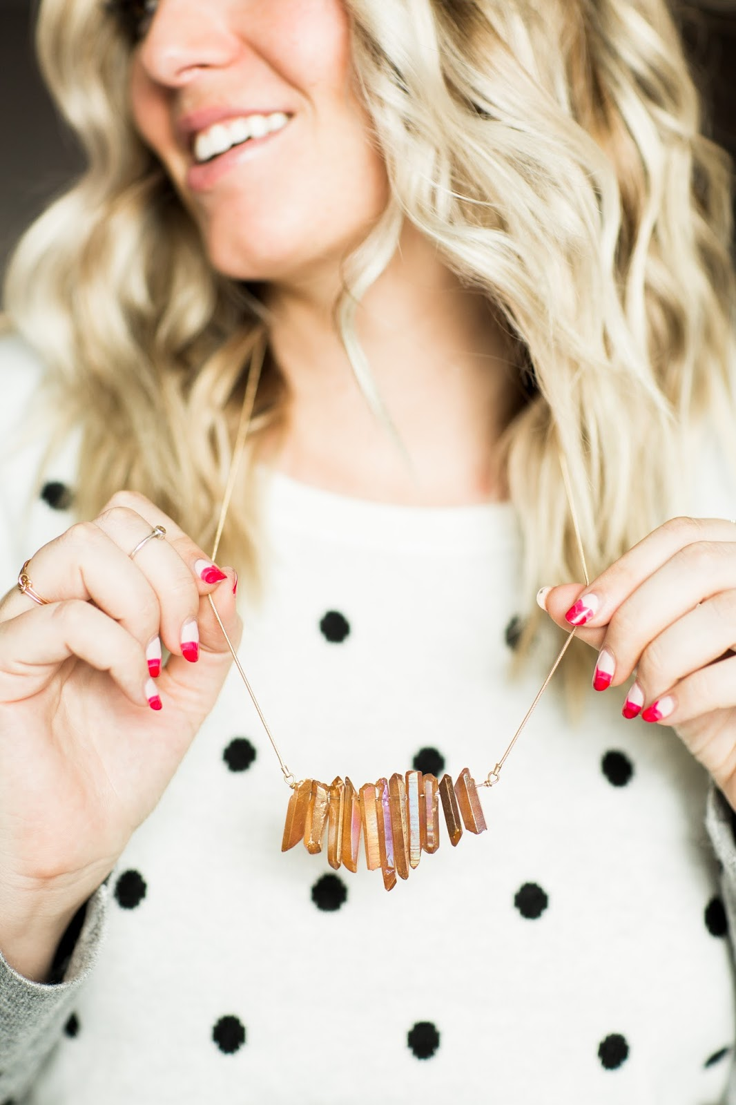 Stitch Fix, Utah Fashion Blogger, Stone Necklace