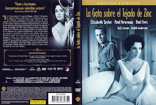 Caratula, Cover, Dvd: La Gata Sobre el Tejado de Zinc | 1958 | Cat on a Hot Tin Roof