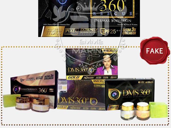 Set Asas DMS360 dan Testimoni Berjaya Pelanggan Dermaxsuperskin 360