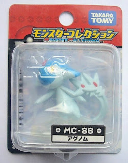Azelf Pokemon Figure Tomy Monster Collection MC series
