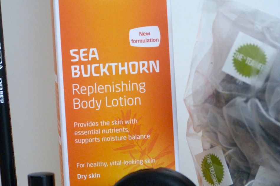an image of weleda sea buckthorn body lotion