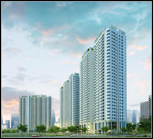 Phối cảnh chung cư Gelexia Riverside Tam Trinh