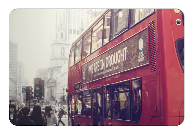 Red bus - Bishopsgate London
