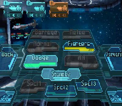Infinite Space - Panel de control