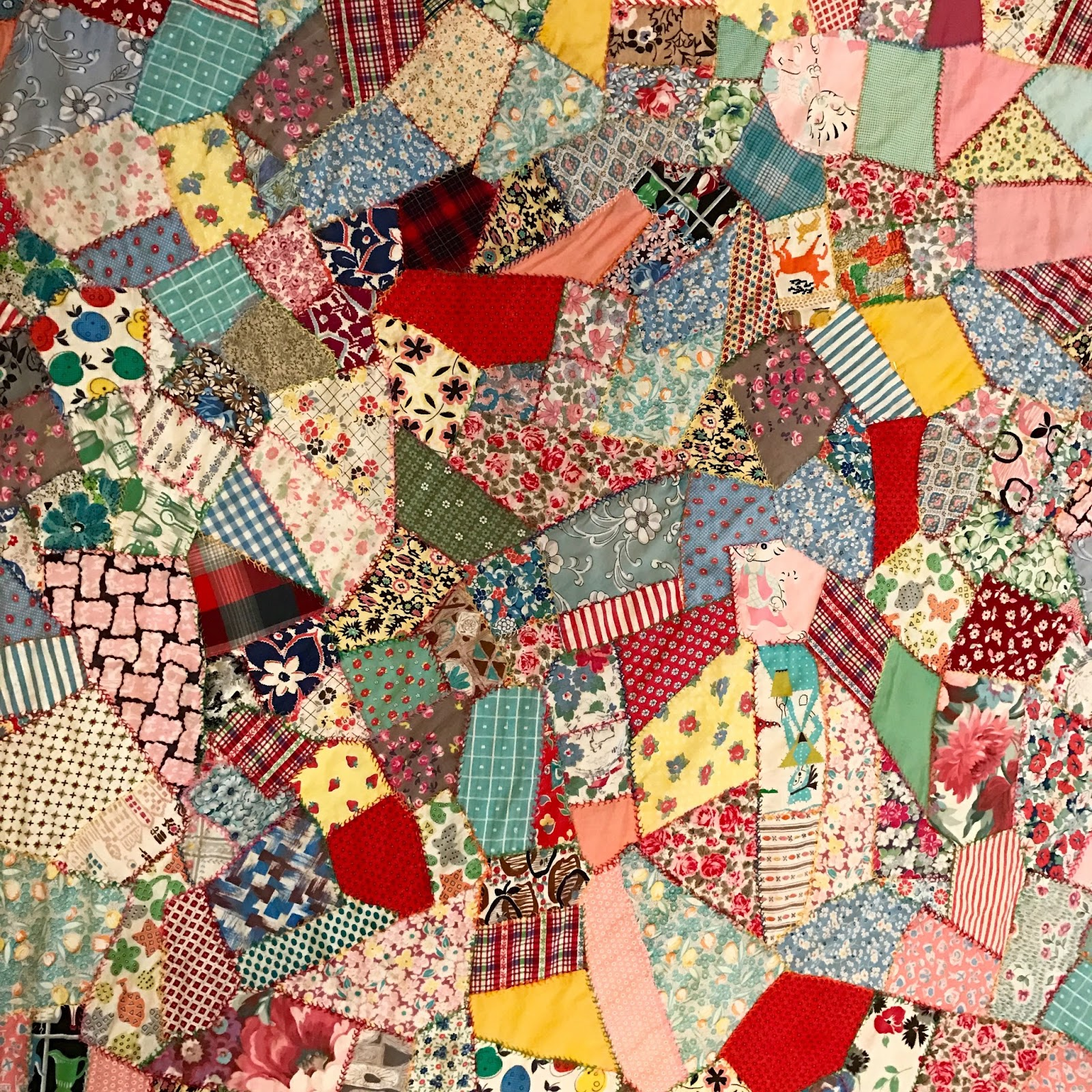 Nifty Quilts Vintage Scrap Lone Star