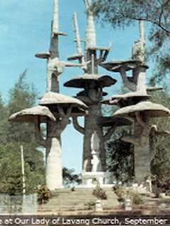 Thánh địa Lavang, Mẹ Lavang, hình ảnh xưa về thánh địa Lavang