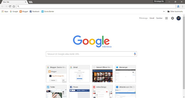 Chrome Material Design Result