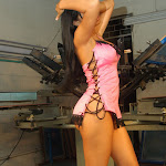 Andrea Rincon, Selena Spice Galeria 38 : Baby Doll Rosado, Tanga Rosada, Total Rosada Foto 22